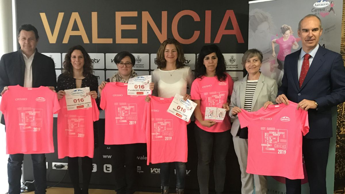 Presentación Carrera de la Mujer Valencia 2019