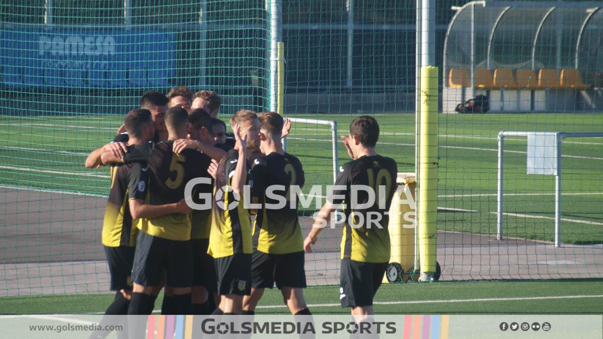 Roda celebracion gol tercera division