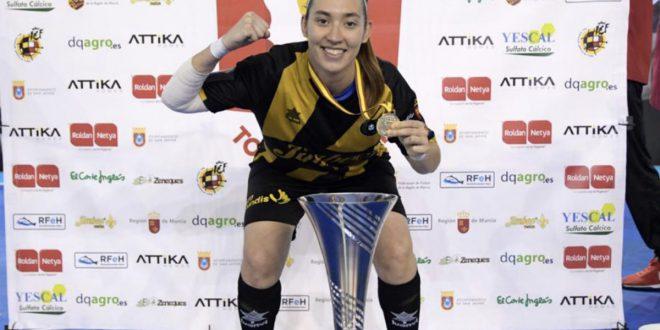 Sara Navalón campeona Europa