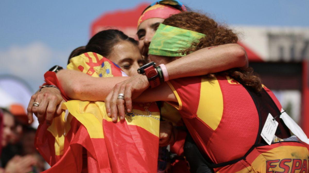selección española femenina campeona del Mundo Trail Running 2018