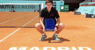 Alejandro Manzanera Mutua Madrid Open Sub-16 2019
