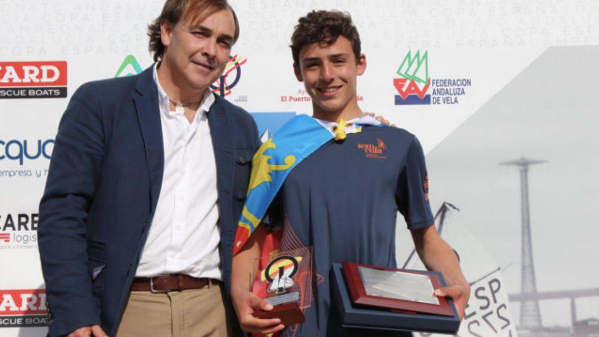 Antonio López Copa España Optimist 2019