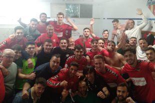 Atlético Saguntino promoción tercera celebraicon