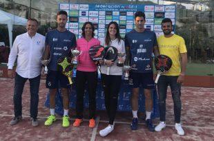 Campeonato Autonómico Absoluto Parejas Pádel 2019