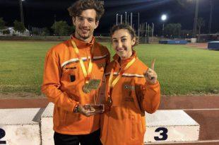 Claudia Conte y Jorge Dávila