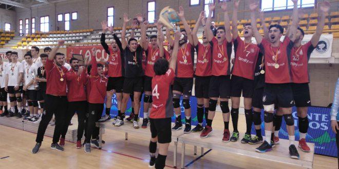 Club Voleibol Xàtiva campeón España juvenil masculino