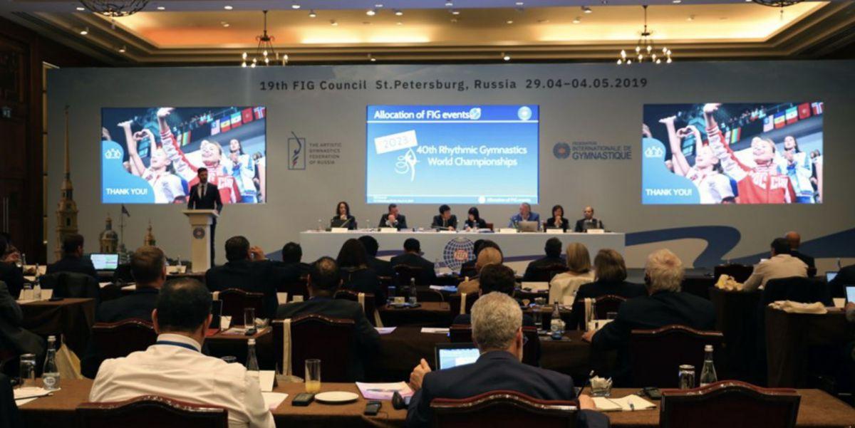 Consejo Federación Internacional Gimnasia