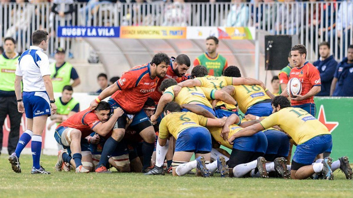 España- Brasil Rugby XV