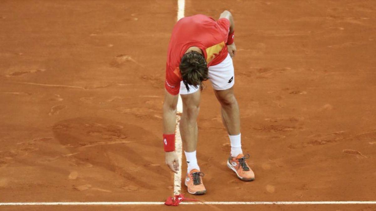 Ferrer se despide del Mutua Madrid Open