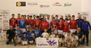 Finalistes Interprovincial raspall 2019
