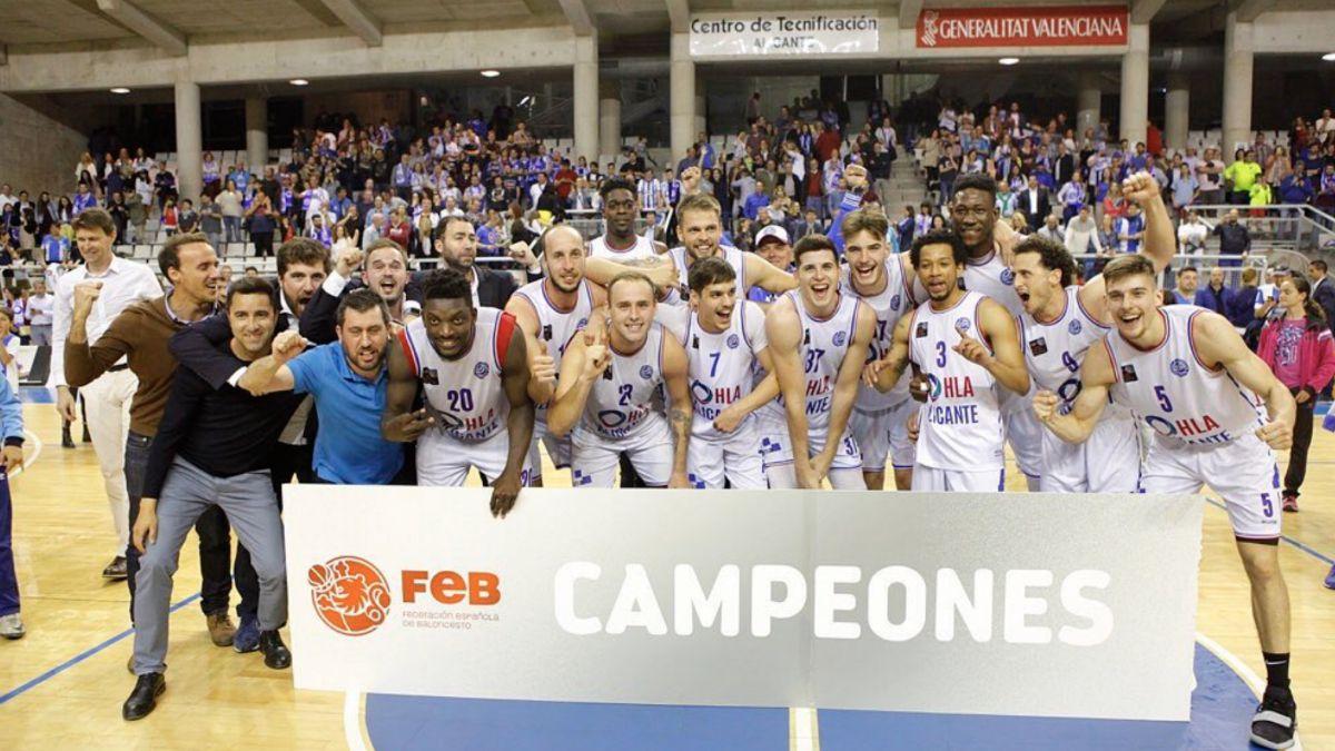 HLA Alicante campeones LEB Plata