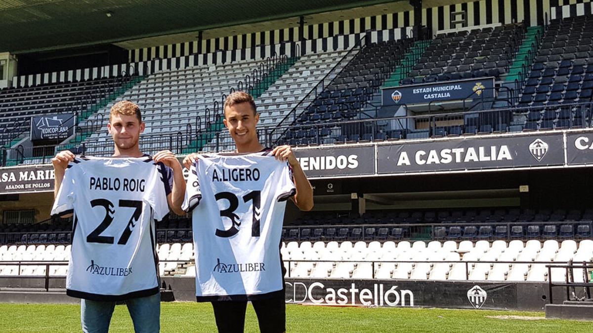 Pablo Roig y Ligero Castellón B