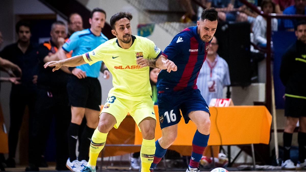 levante barcelona futbol sala