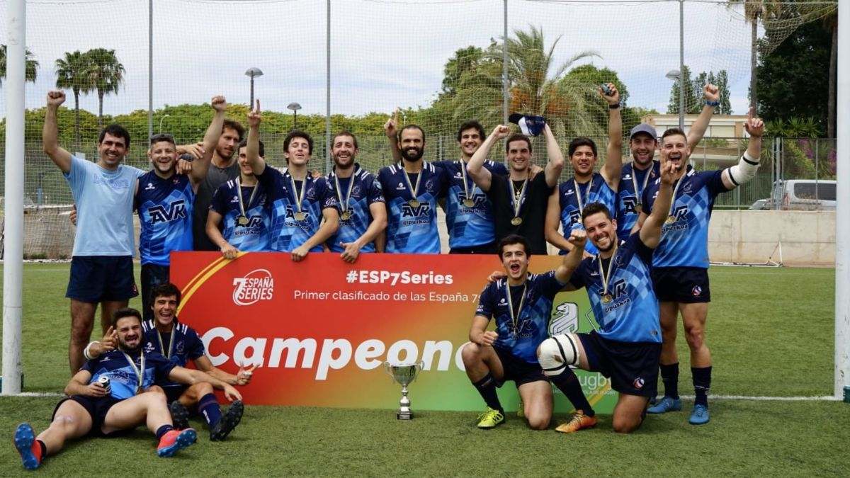 AVK Bera Bera RT campeón España 7s Series