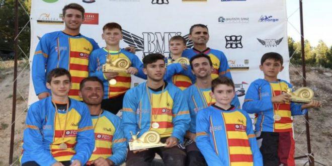 Campeones Autonómicos BMX 2019