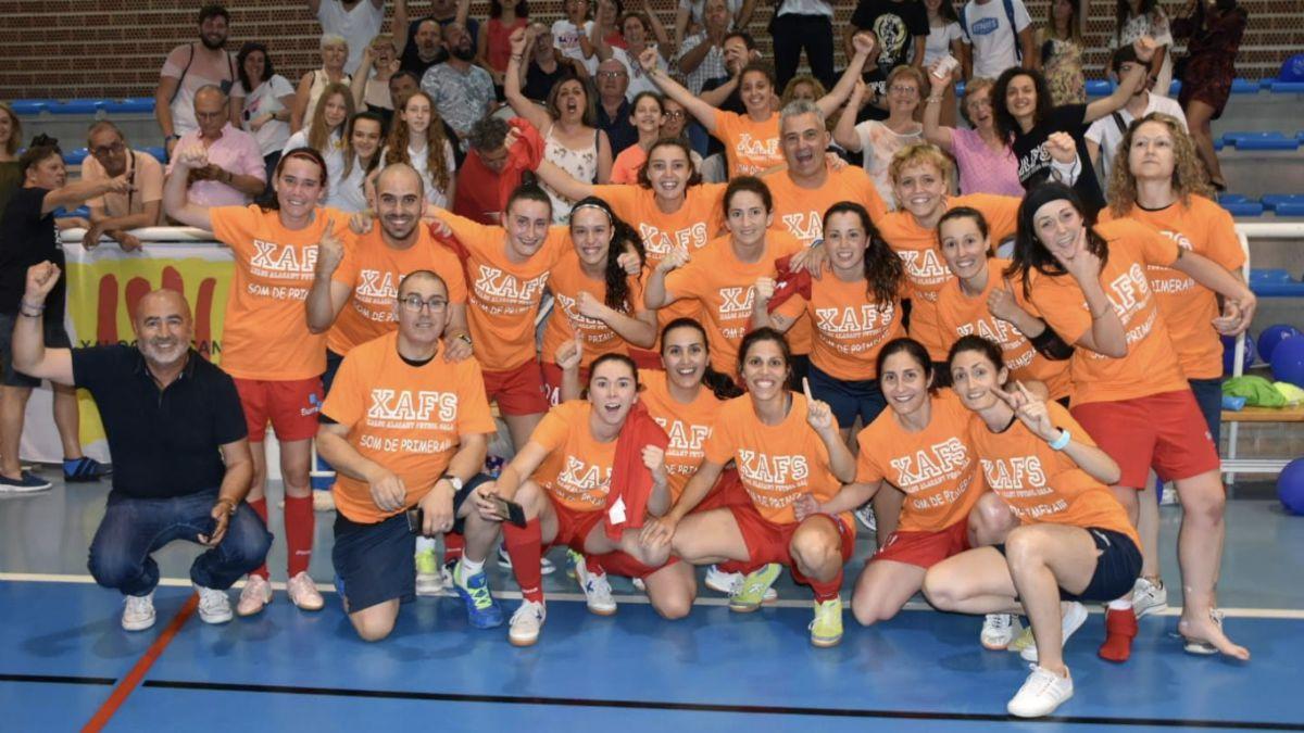 Celebración Xaloc Alacant FS