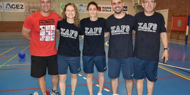 Cuerpo técnico Xaloc Alacant F.S. 2019-2020