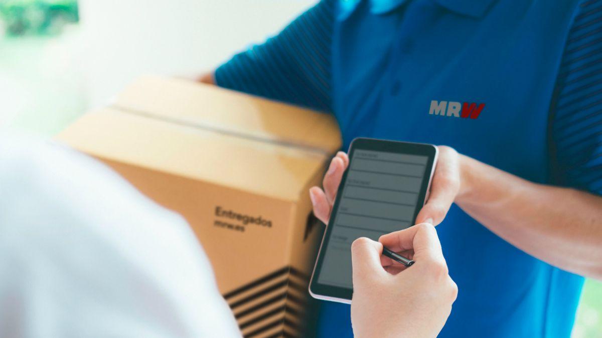 Entrega paquete MRW