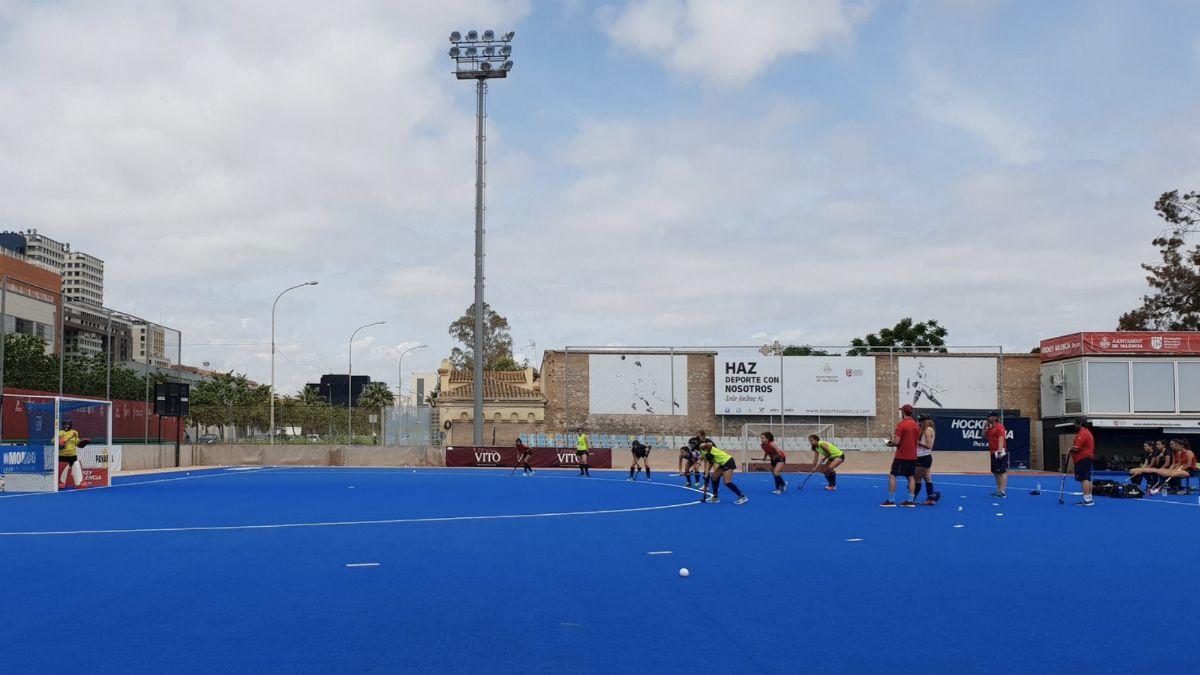 Entrenamiento RedSticks Valencia