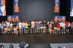 Foto familia Gala FBCV 18-19 Xàtiva
