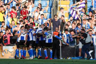 Hércules CF celebración gol play off