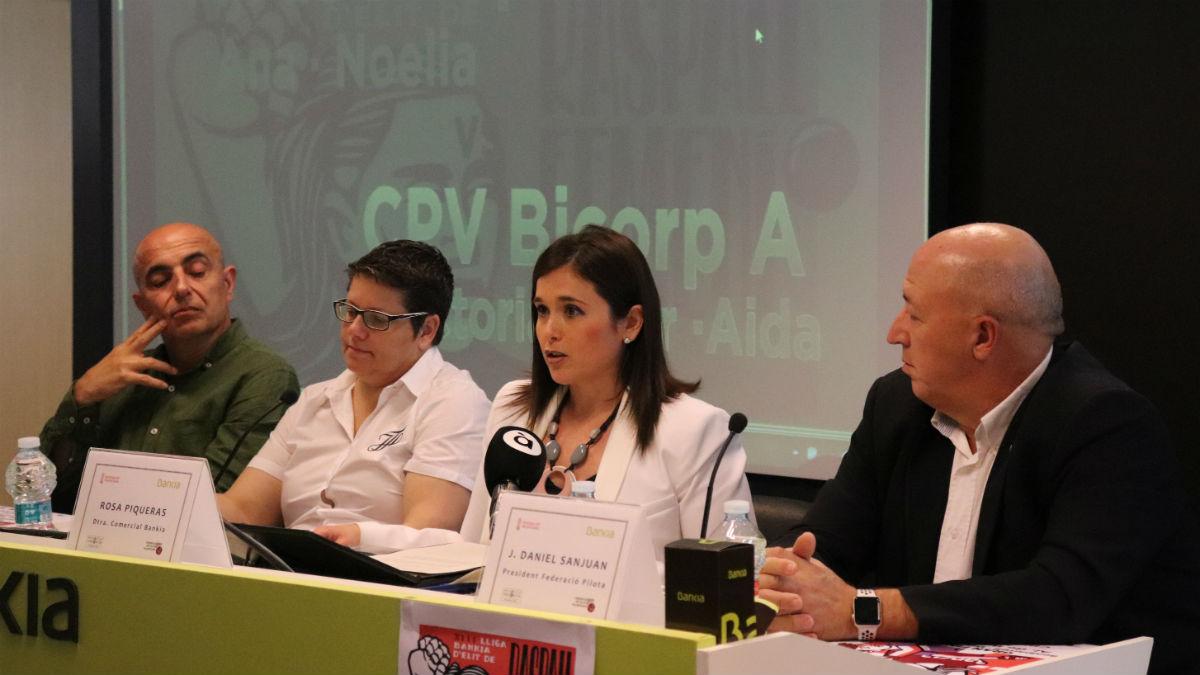 Presentación de la final de la Lliga Bankia