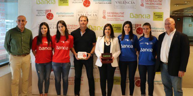 Presentación de la final de Lliga Bankia de Raspall Femenino