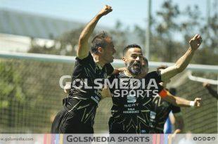 Jugadores Intercity celebración Paco Peña Chupe