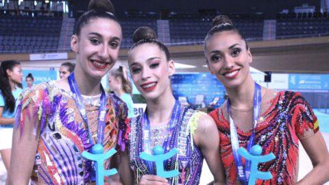 María Añó y Noa Ros Campionat Espanya Gimnàstica Rítmica Mallorca
