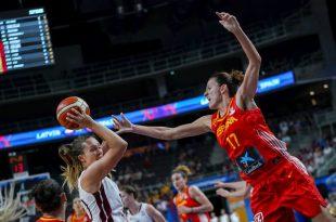 María Pina España-Letonia Eurobasket 2019