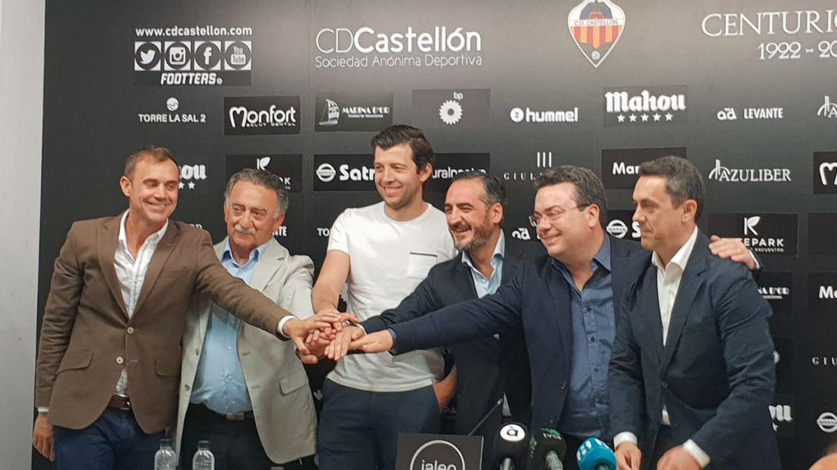Nueva directiva del CD Castellón
