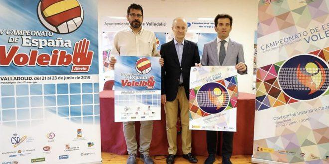 Presentación Nacional Alevín Voleibol 2019