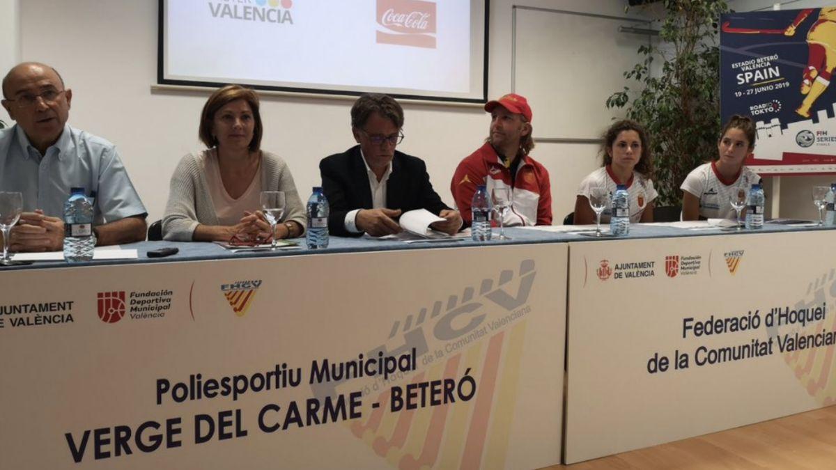 Presentación Valencia Hockey Series Final Women