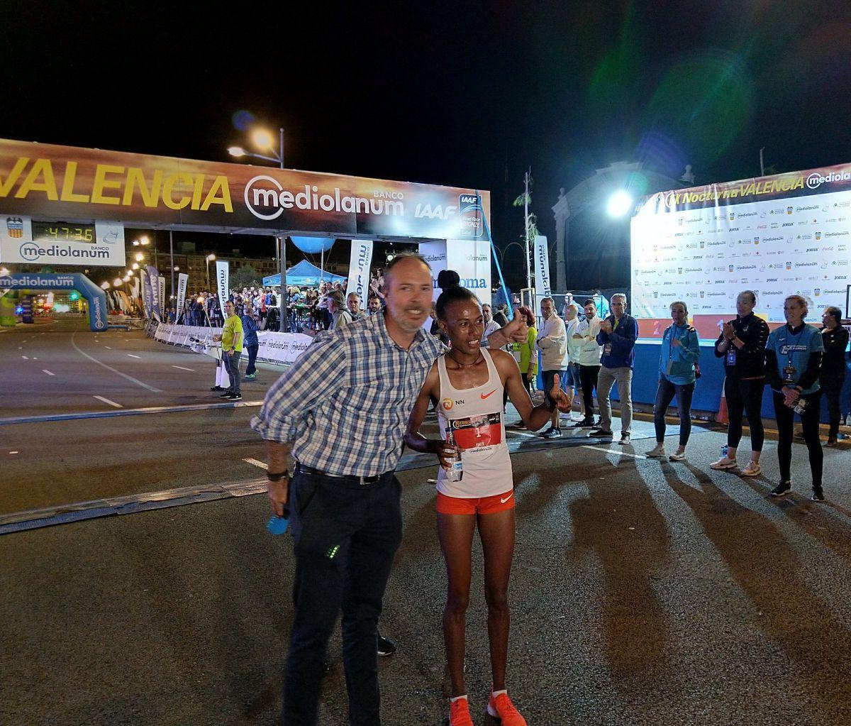 Rércord mundial 15k noctura Valencia