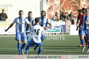 Recambios Colon celebracion gol