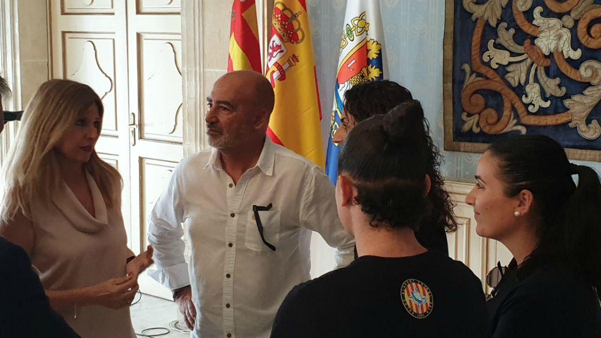 Recepción al Xaloc Alacant FS