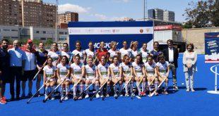 RedSticks presentación Valencia Hockey Series Final Women