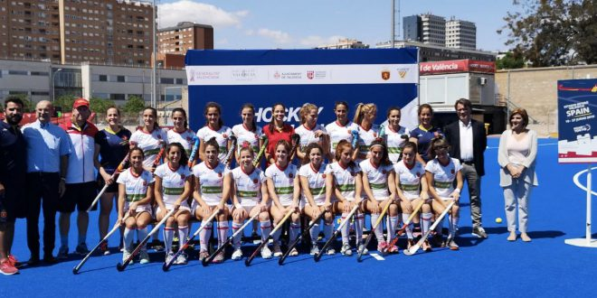 RedSticks presentación Valencia Hockey Series Final Women