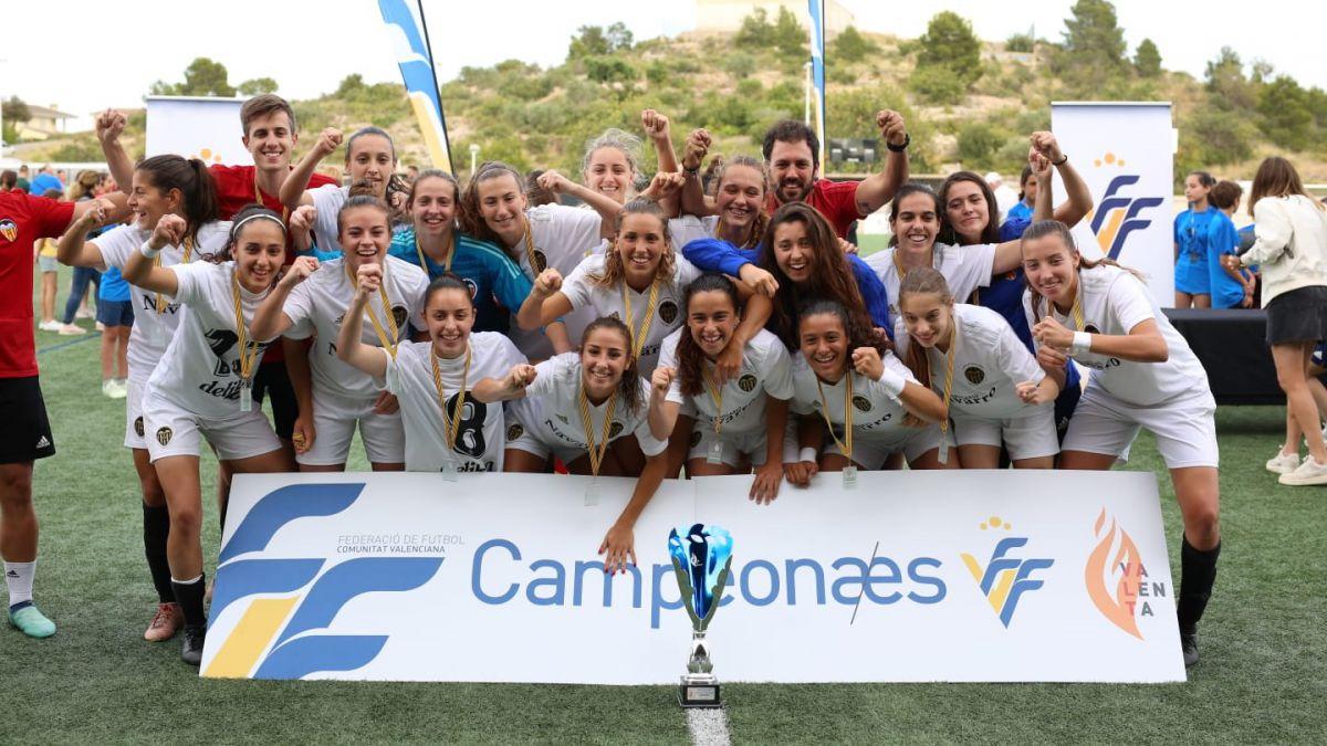Valencia CF gana Copa Federación Femenina