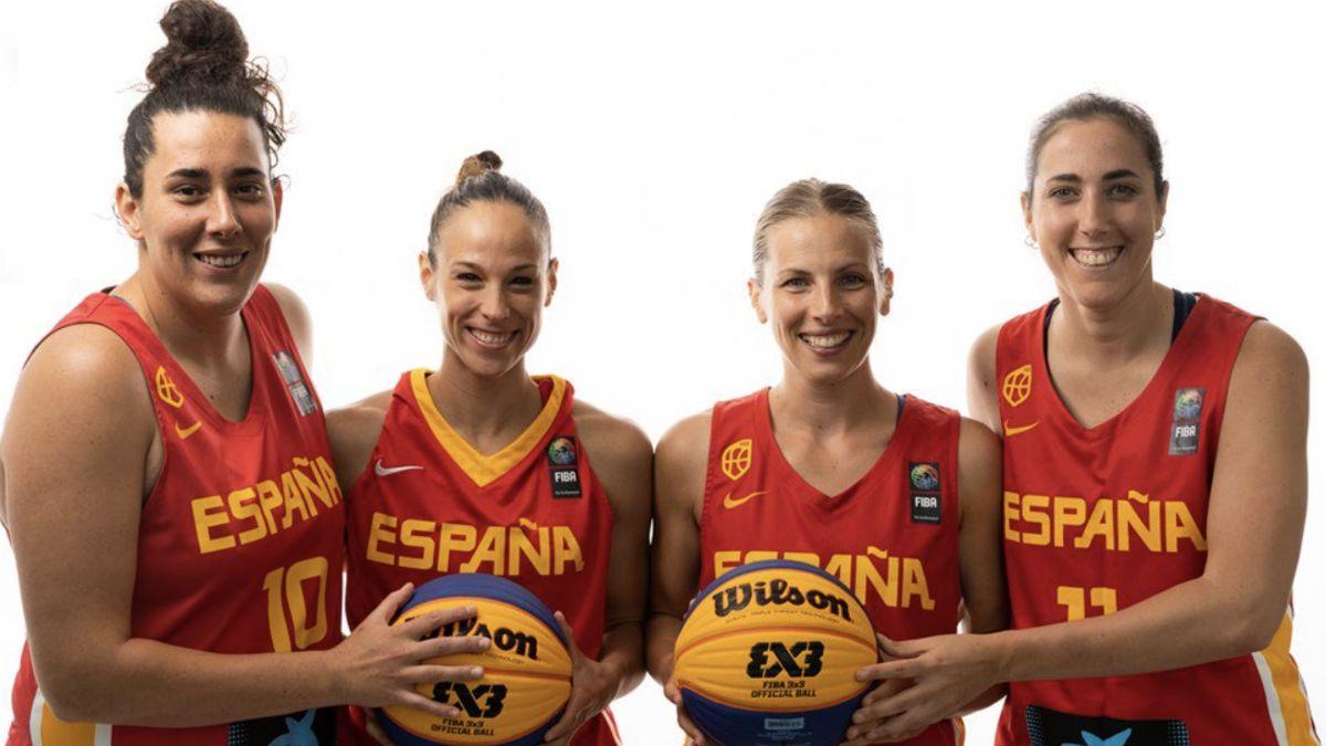 selección española Mundial 3x3 2019
