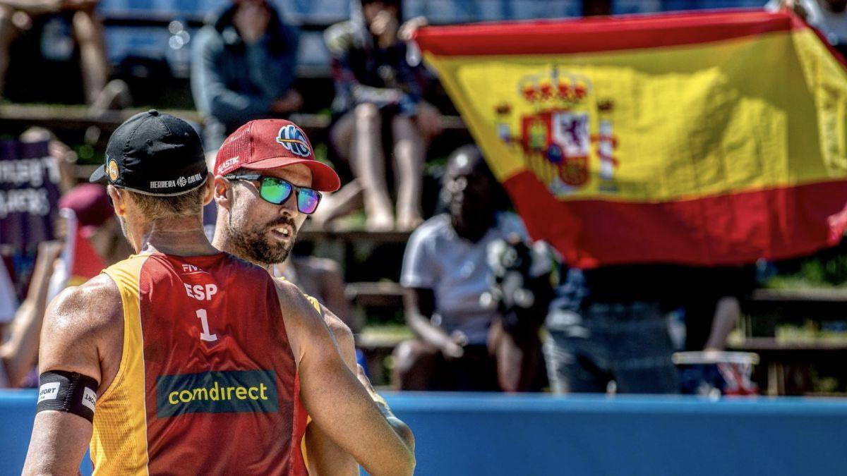 Adrián Gavira y Pablo Herrera Mundial Hamburgo
