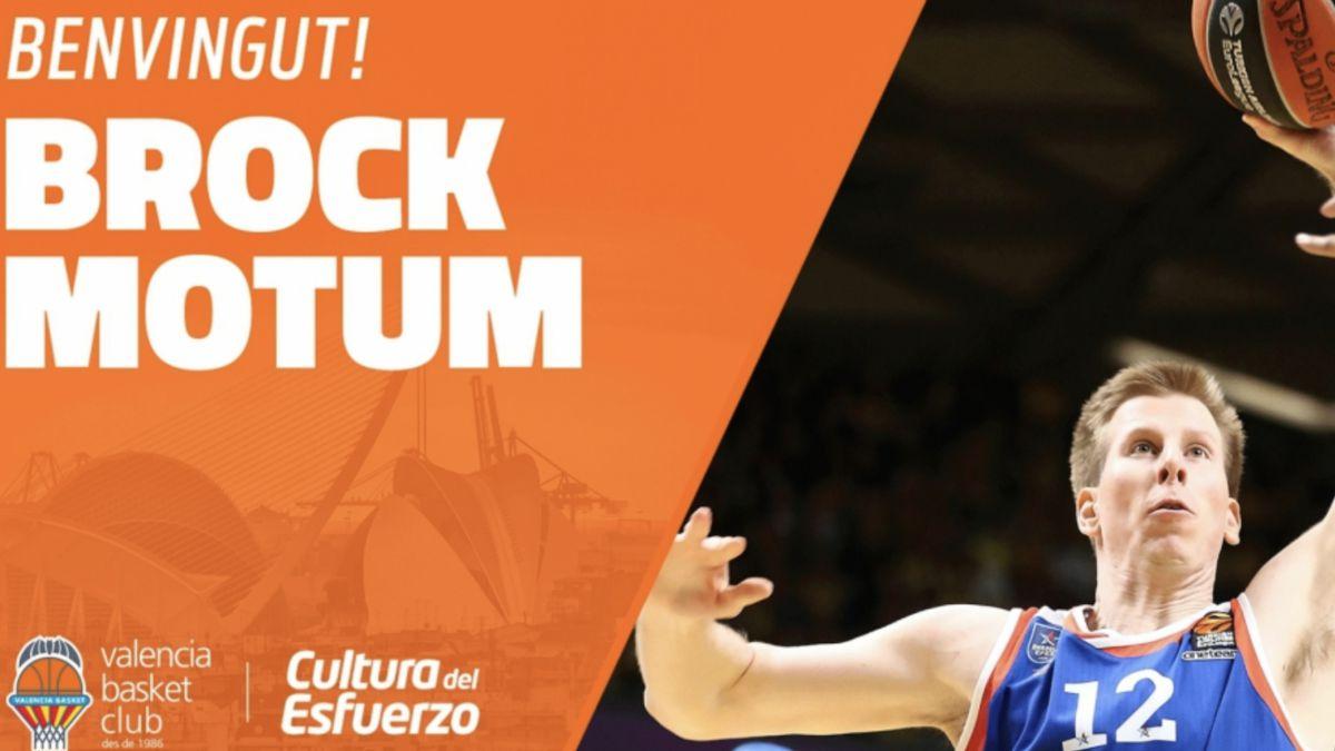 Brock Motum Valencia Basket