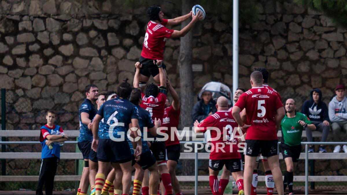 CAU Rugby Valencia - UE Santboiana B