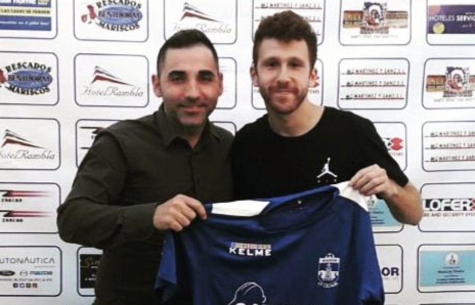 Jorge Lopez CF Calvari Benidorm