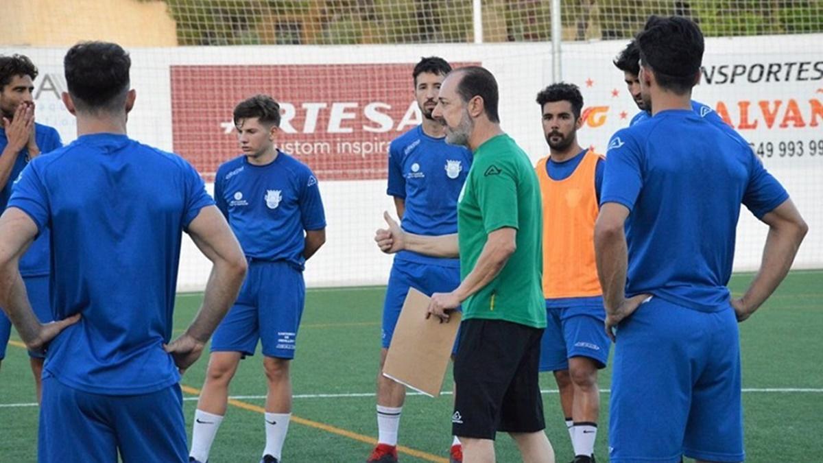 Crevillente Deportivo entrenamiento