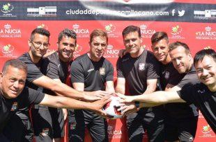Cuerpo técnico del CF La Nucia