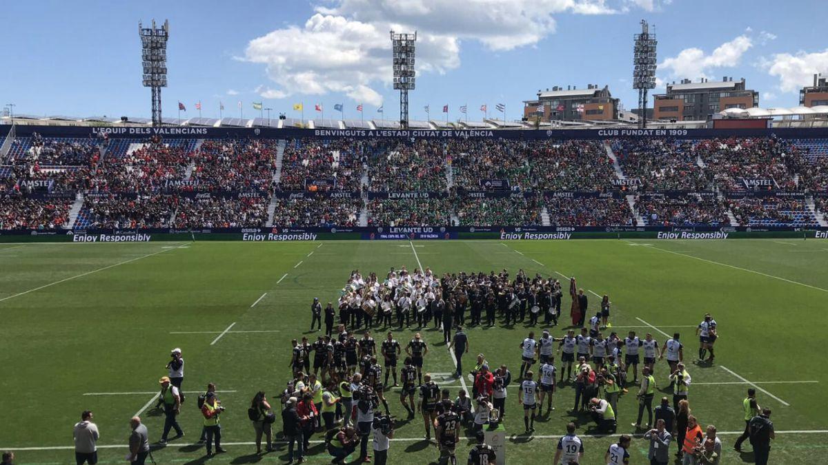 Final Copa Rey Rugby Valencia 2018