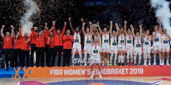 Laia Palau levanta EuroBasket 2019