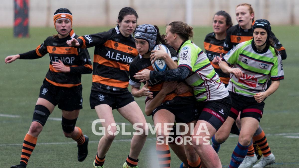 Les Abelles - AVIA Eibar Rugby Tadela