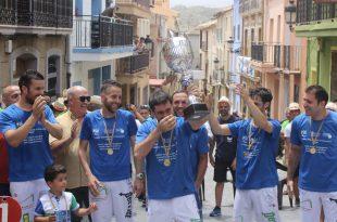 Parcent campió Llargues 2019 Diputació Alacant